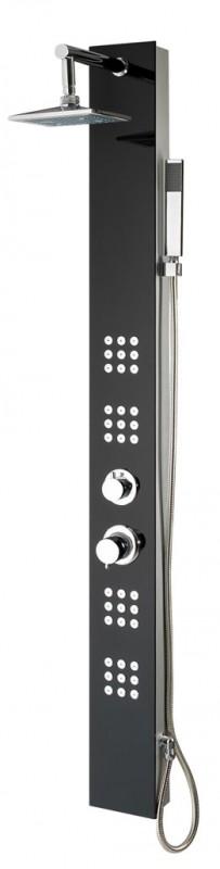 xxl glas duschpaneel 24 massagejets duschs ule dusche ebay. Black Bedroom Furniture Sets. Home Design Ideas
