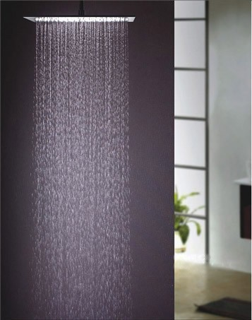 xxl edelstahl 600 600 led regendusche duschkopf dusche ebay. Black Bedroom Furniture Sets. Home Design Ideas