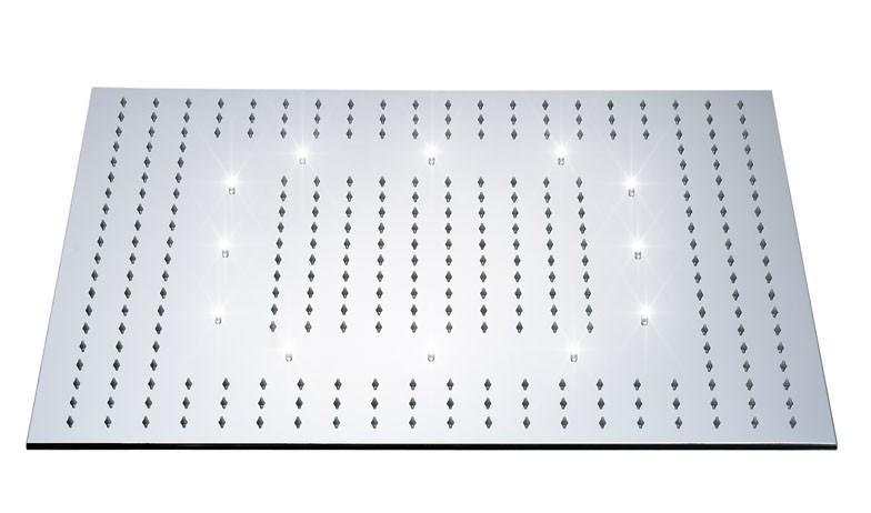 xxl edelstahl 600*600 led regendusche duschkopf dusche | ebay - Regendusche Led