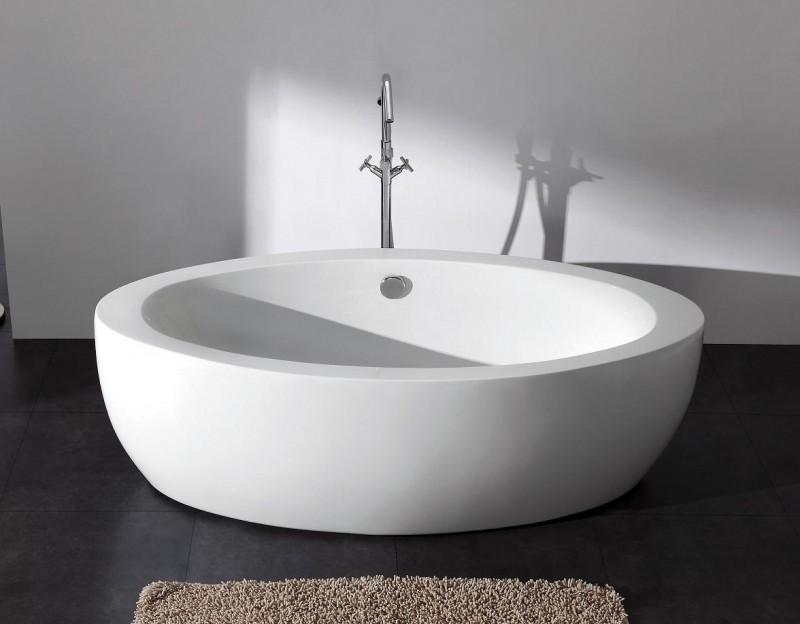 freistehende badewanne aus holz carprola for. Black Bedroom Furniture Sets. Home Design Ideas