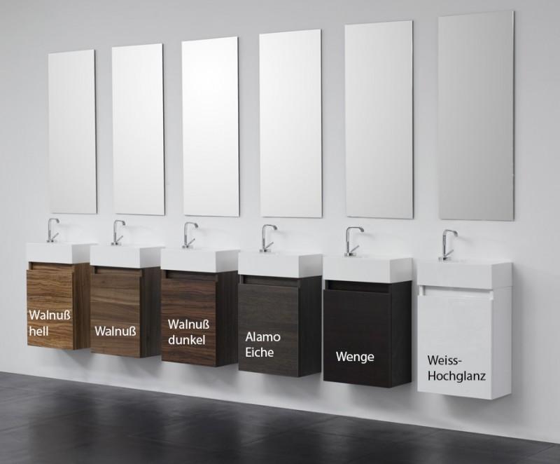 g ste wc badm bel waschbecken mit unterschrank waschtisch ebay. Black Bedroom Furniture Sets. Home Design Ideas
