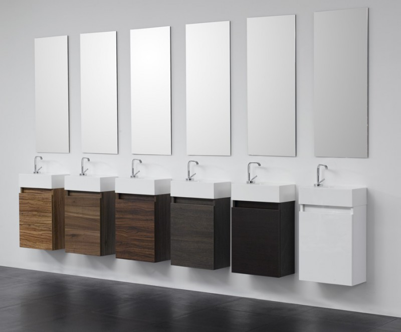 g ste wc badm bel waschbecken mit unterschrank waschtisch ebay. Black Bedroom Furniture Sets. Home Design Ideas
