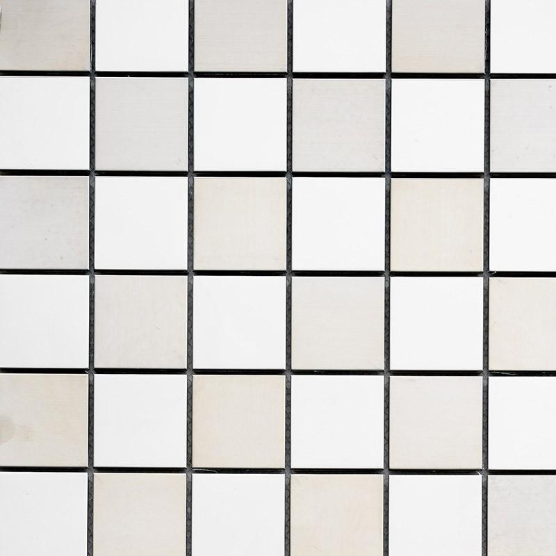 Mosaik fliesen aus edelstahl geb rstet metallmosaik ebay for Mosaik fliesen frostsicher