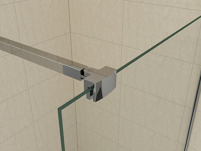 ... Duschtrennwand 10mm Glas 120cm Duschwand Duschabtrennung Dusche eBay