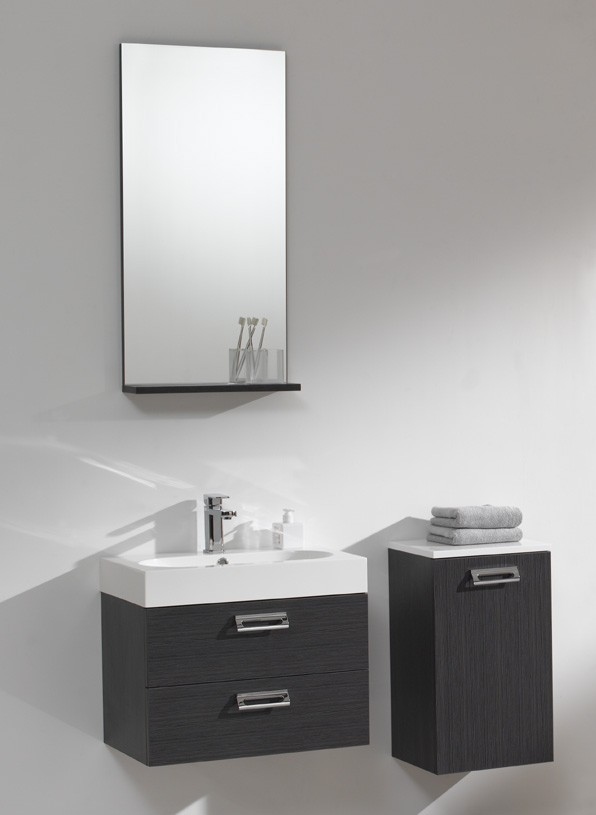 g ste wc 60 cm badm bel waschbecken set in grau oder wei ebay. Black Bedroom Furniture Sets. Home Design Ideas