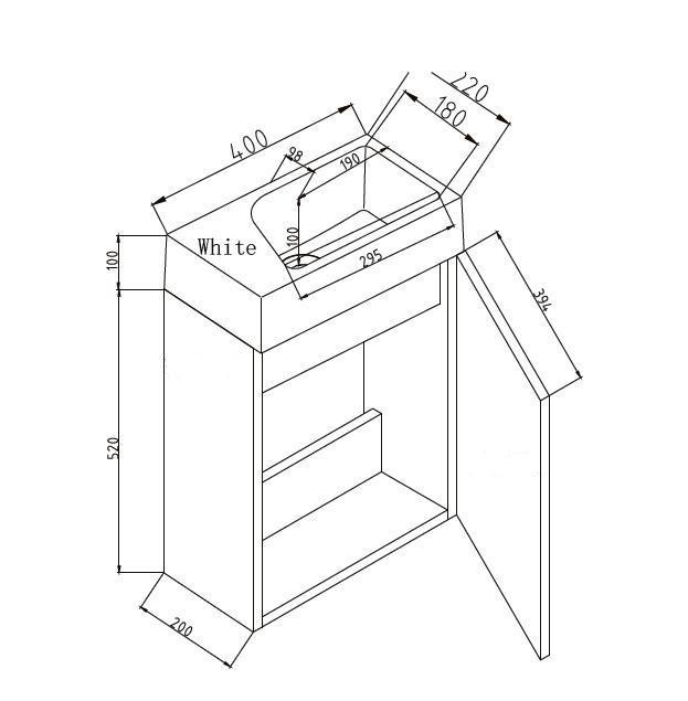 g ste wc badm bel waschbecken mit unterschrank badm bel. Black Bedroom Furniture Sets. Home Design Ideas